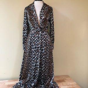 Vanity Fair Vintage Cheetah Dress 10